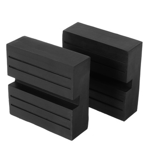 Nonstandard Single U Groove Rubber Floor Jack Pad Adapter